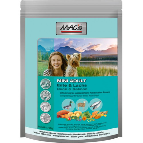 MAC's Adult Mini Ente Lachs 750g